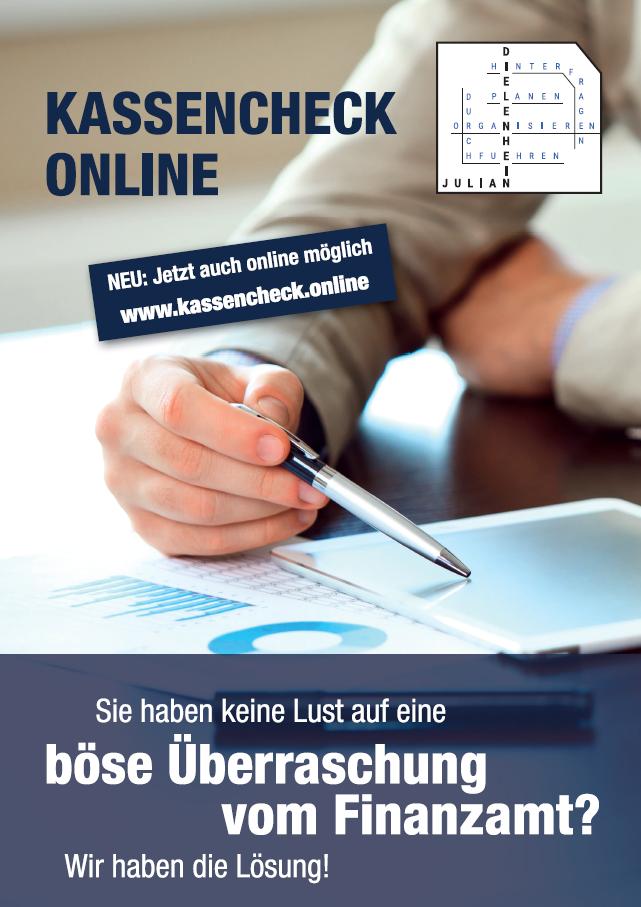 Kassencheck-Flyer